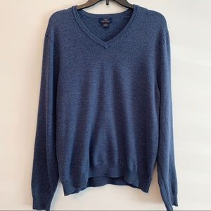 Brooks Brothers Extra Fine Merino Wool Sweater M